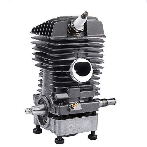 Dalom 46MM Cylinder Piston Assembly w Spark Plug for Sthil MS290 MS310 MS390 029 039 Gas Chainsaw