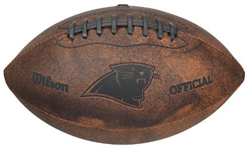 NFL Vintage Throwback Fußball, 22,9 cm, braun, 9