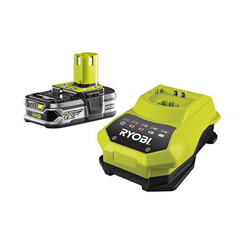 Ryobi RBC18L15 - Pack cargador 1 h + 1 Batería Lítio-Ion...