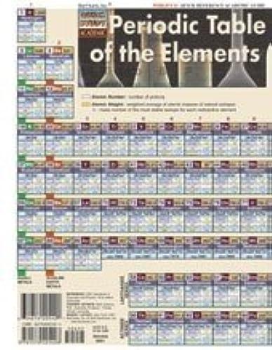 liquidación hasta el 70% Periodic Table Advanced Quick Study Guide by BarCharts by BAR BAR BAR CHARTS  los nuevos estilos calientes