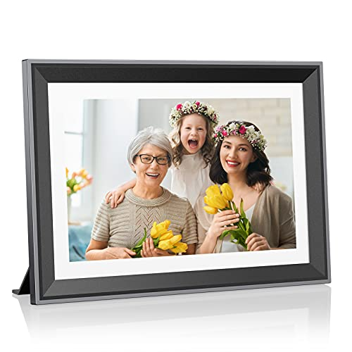 Atatat WiFi Digital Picture Frame 10.1 inch with...