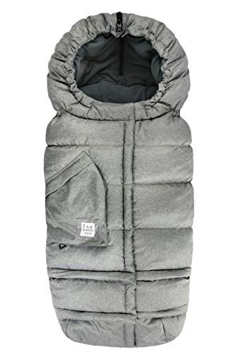 7AM Enfant Stroller, Carseat Footmuff - Blanket 212 Evolution Cover for Car Seat & Stroller, Adjustable Cold Weather, Water Repellent, Warm Sleeping Bag for Baby & Infant, Grows with Child (6M - 4T)