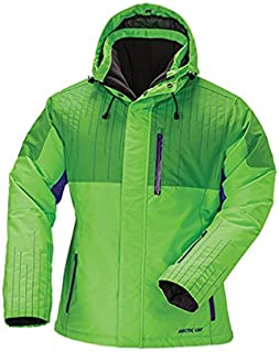 Arctic Cat Women's Glam Lime Snowmobile Jacket (XS)