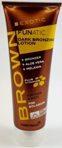 TannyMaxx Brown Exotic Funatic Dark Bronzing Lotion 125ml by TannyMaxx