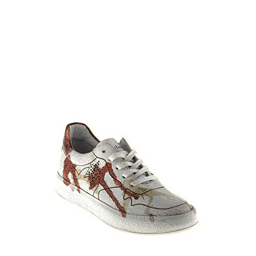 Felmini - Damen Schuhe - Verlieben Trump B009 - Sneakers - Echtes Leder - Mehrfarbig - 37 EU Size