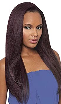 DOMINICAN BLOWOUT STRAIGHT BUNDLE HAIR  1B Off Black  - Outre Batik Quick Weave Synthetic Half Wig