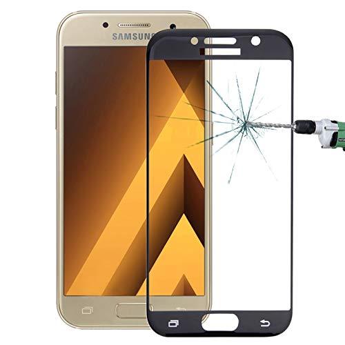 JIANGHONGYAN para Samsung Galaxy A5 (2017) / A520 0.26mm 9H Dureza Superficial 2.5D Película de Pantalla de Cristal Templado a Prueba de explosiones a Pantalla Completa (Color : Black)