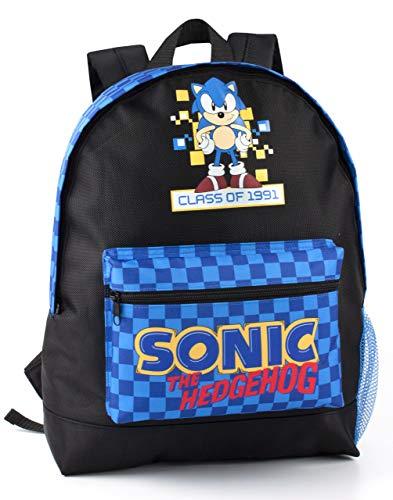 Sonic The Hedgehog Class of 1991 Retro Backpack Bag