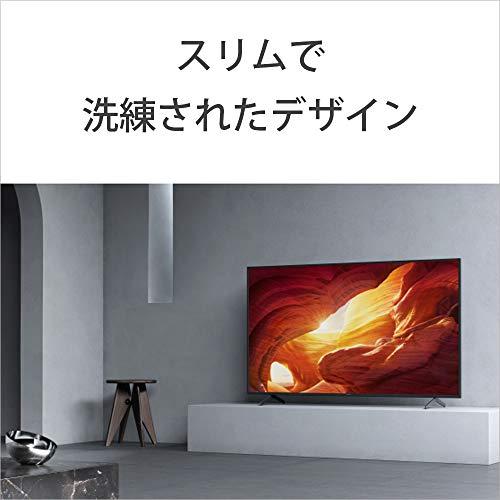 『ソニー 43V型 液晶 テレビ ブラビア KJ-43X8000H 4Kチューナー 内蔵 Android TV (2020年モデル)』の11枚目の画像