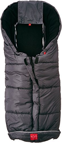 Kaiser Iglu Thermo Fleece Fußsack, anthrazit