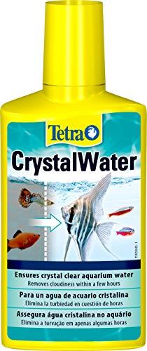 Tetra CrystalWater 250 ml - Elimina el enturbiamiento del agua del acuario en cuestión de horas