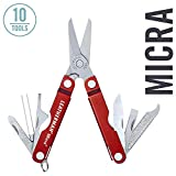 LEATHERMAN, Micra Keychain Multitool with Spring-Action Scissors and...