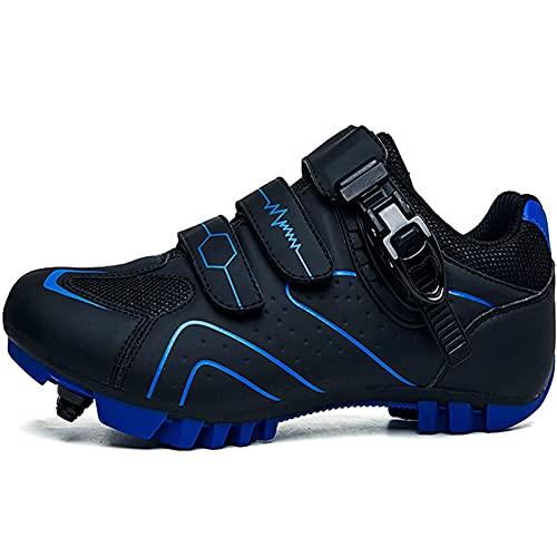 CPWD Zapatillas Ciclismo MTB para Mujer, Zapatillas de Deporte para Hombre, Zapatillas de Bicicleta Montaña, Zapatillas Planas para Bicicleta, Zapatillas Deportivas Carreras SPD,A-40EU