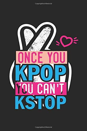 kpop notebook: kpop Notebook A5 dot grid - for planning, organizing and noting