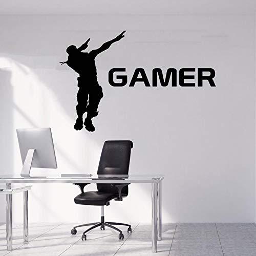 Gamer Muursticker PS4 PS3 Video Game Personages Vinyl Muursticker Voor Jongens Slaapkamer Spel Zone Wanddecoratie Mural Verwijderbaar