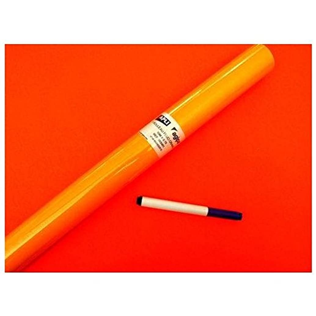APLI Neon 065401?Roll Paper Holder, 10?x 70?cm, Orange