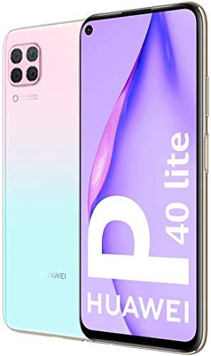 HUAWEI P40 Lite - Smartphone 128GB, 6GB RAM, Dual SIM, Light Pink/Blue