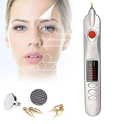 XGuang Electric Beauty Whitening Instrument, LCD Beauty Pen Can Eliminate Melanin Freckles and Tattoos Skin Label Removal Cleansing