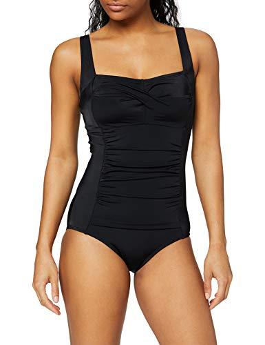 DORINA Damen Badeanzug Fiji, Schwarz (Black), XXX-Large