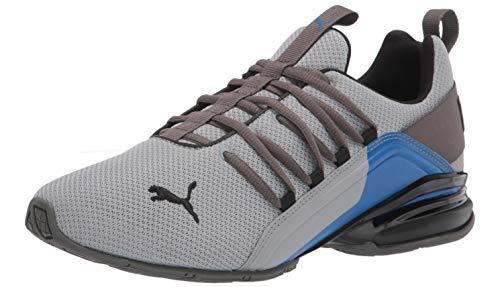 PUMA Men's 19497903 Running Shoe, Quarry Black-Castlerock, 9