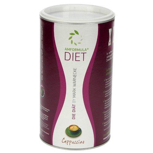 AM Formula Diet Cappucino Pulver, 490 g