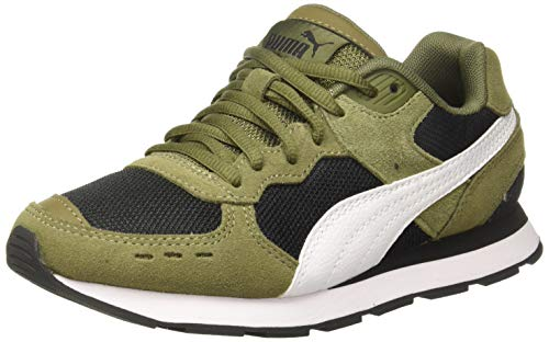 PUMJV|#Puma Vista Zapatillas Unisex adulto, Verde (Burnt Olive-Puma White-Puma Black 08), 41 EU (7.5 UK)