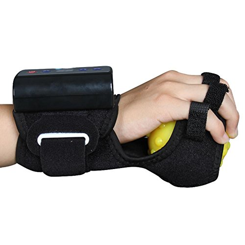 Terapia ejercicio bolas de gel con calor y vibración masaje funciones-dedos fisioterapia rehabilitación espasmo / distonía / hemiplejia (recargable) 🔥