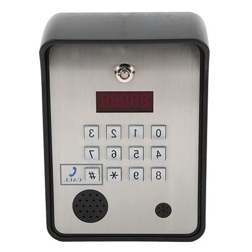 ドアエントリーシステム、ワイヤレスインターホン双方向音声アクセス制御システムリモートコントロール、オフィス用アパート用キーパッド付き(米国版)