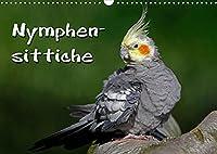 Nymphensittiche (Wandkalender 2022 DIN A3 quer): Freche Voegel (Monatskalender, 14 Seiten )