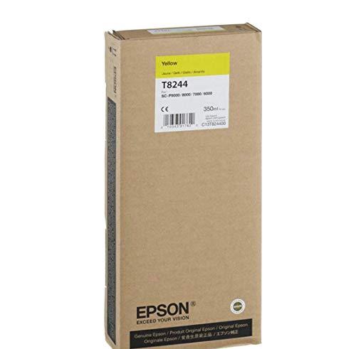 Epson T824400 - Cartucho de tinta para impresoras (Amarillo, SureColor SC-P6000 STD SureColor...