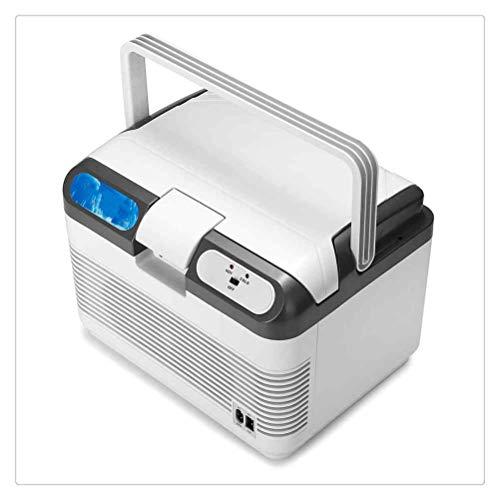 WNDRZ Refrigerador De Coche De 12L, Enfriador De Compresor De 60 W, Métodos De Carga De Refrigeración Y Calentamiento De Nevera Portátil De Coche para Viajes En Casa