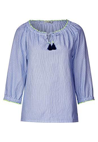 Cecil Damen 341387 Bluse, Blouse Blue, Large