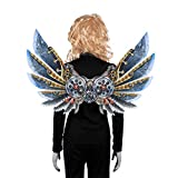 NUOBESTY Dragon Costume Toy Cosplay Carnival Wings Tail Accessory Mechanical Wings for Adults