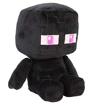 JINX Minecraft Crafter Enderman Plush Stuffed Toy Black 8.75  Tall