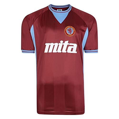 Score Draw Aston Villa 1984 Retro Football Soccer T-Shirt Trikot