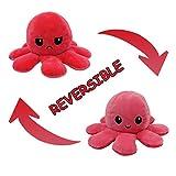 Kinderspielzeug Geschenk Plüschtiere niedlich kleine Octopus Toy Doppelseitiges Flip-Plüschtier Süße Wendepuppe Geschenk Plüschtiere niedlich kleine Octopus Toy