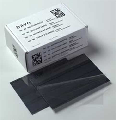DAVO 29541 N3 stockcards (158x110mm) 3 Strips (per 100)