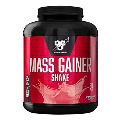 BSN Mass Weight Gainer Shake 1700g Strawberry