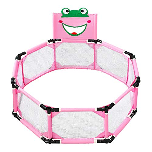 Buy Bargain Baby playpen Frog Prince Children's Indoor Playpen Home Folding Perspective Net Waterpro...