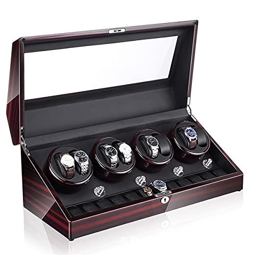 Caja Bobinado Automático Reloj Pulsera, Cajas Bobinadora Reloj, Bobinadora Reloj Motor Silencioso Mesa 8 + 0 Automática para El Hogar, Caja Presentación Almacenamiento Reloj Mecánico (Color : C)