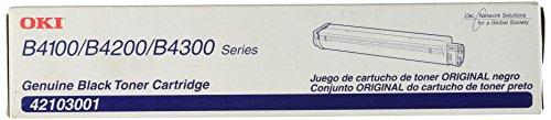 Price comparison product image Okidata 42103001 Toner Cartridge for B4000 Series Printers,  2500 Page Yield,  Black