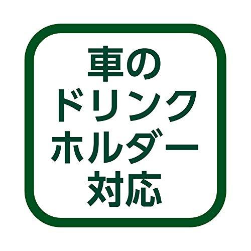 【Amazon.co.jp限定】ドウシシャタンブラーふた付きコンビニマグダイレクトタイプ真空断熱直接ドリップ0.36Lグリーン