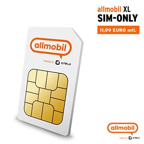 allmobil powered by Otelo XL 7 GB LTE Allnet Flat SIM only
