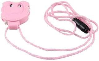 Creativa Knitting Fila Contador Mini portátil de Punto de Hilo Mini Colgante del Ganchillo de la Puntada Herramienta Colgante - Suministros Ropa de Color Rosa