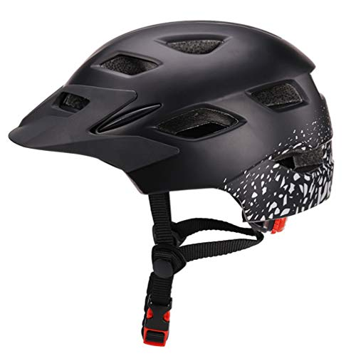 KESYOO Niño Bicicleta Casco Seguridad Ventilación Equipo Protector Protector de Cabeza Protector...