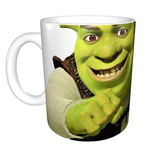 Shrek - Taza de regalo personalizada, suministros divertidos de oficina, regalo para mamá, papá, niños o niñas