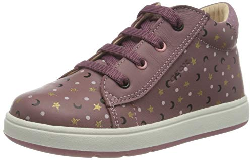 Geox Baby-Mädchen B BIGLIA Girl A First Walker Shoe, (Rose Smoke), 21 EU