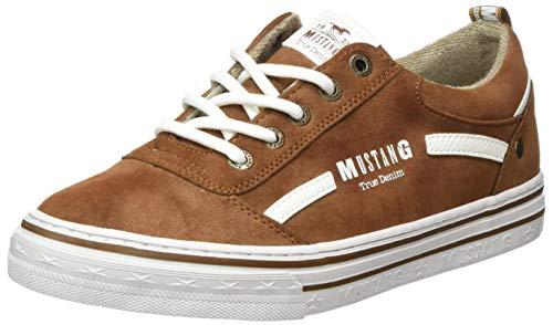 MUSTANG Damen 1354-312-301 Sneaker Sneaker Kastanie,37 EU