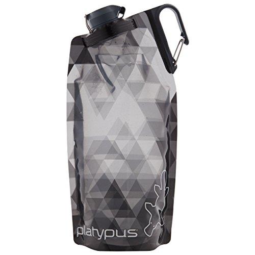 Platypus DuoLock Flexible Flasche 1000ml Gray prisms 2021 Trinkflasche