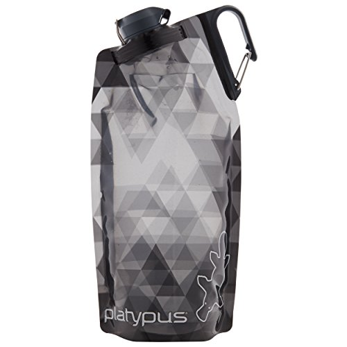 Platypus DuoLock Flexible Flasche 1000ml Gray prisms 2020 Trinkflasche